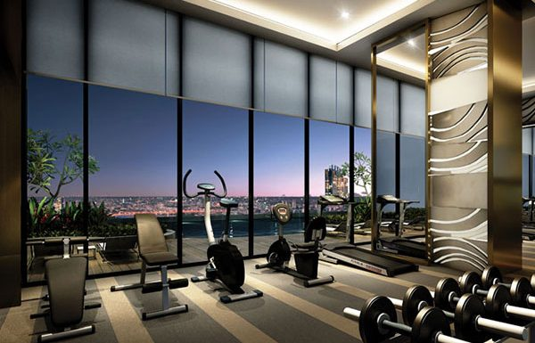 Menam-Residences-Bangkok-condo-for-sale-fitness