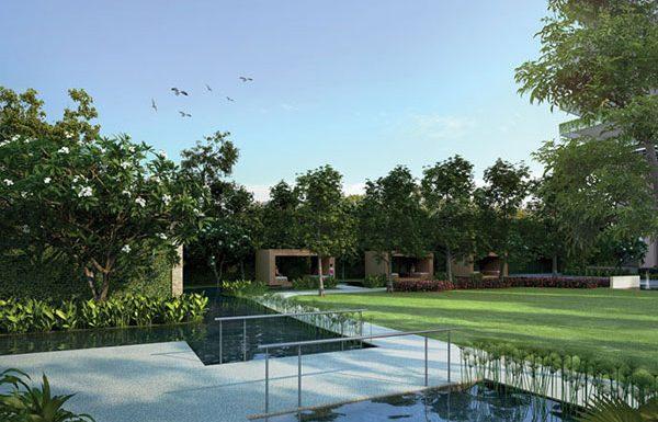 Menam-Residences-Bangkok-condo-for-sale-garden