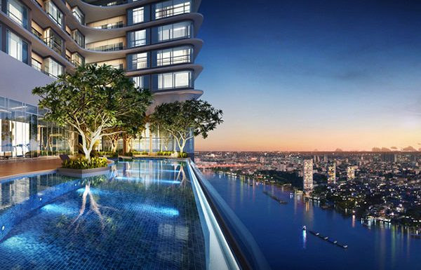 Menam-Residences-Bangkok-condo-for-sale-swimming-pool